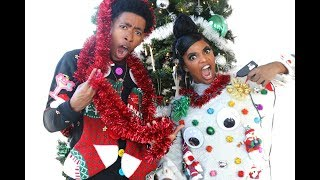 connectYoutube - HILARIOUS BF VS. GF UGLY CHRISTMAS SWEATER CHALLENGE!!!