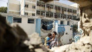 """UN condemns """"violation"""" of law by Israel after deadly attack on UN school"""