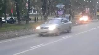 Последствия ДТП на ул. 16-я Амурская (21.09.2017)