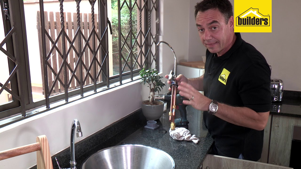 How To Install A Water Filter Under The Sink You