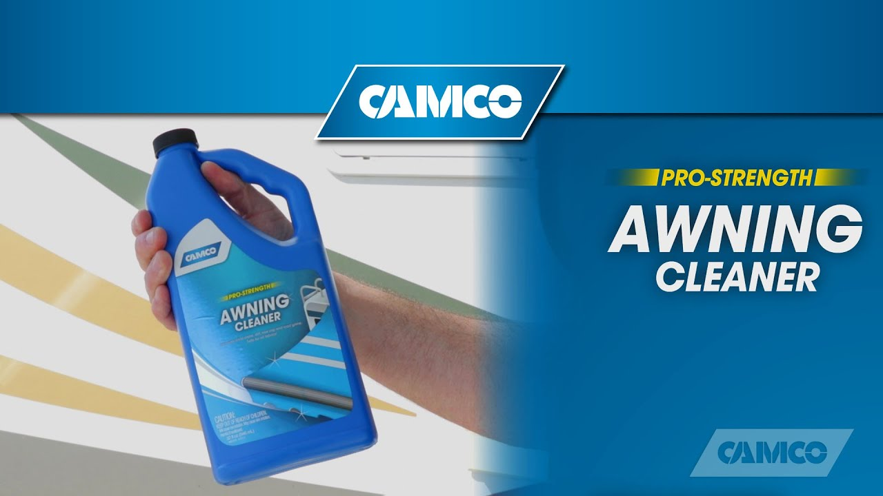 Awning Cleaner From Camco Youtube