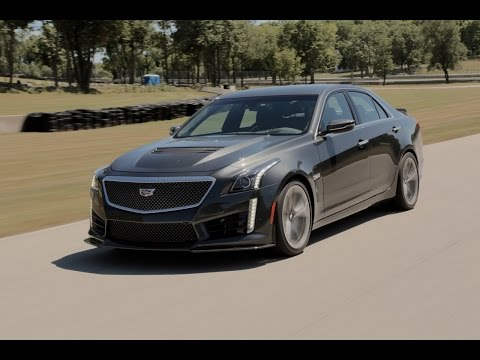 2016 Cadillac CTS-V Review - First Drive