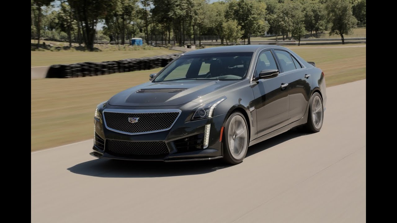 2016 Cadillac CTS-V Review - First Drive - YouTube