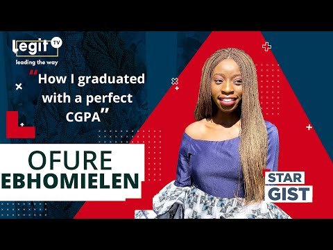 From UI to Stanford: The story of Ofure, UI's best graduating female of all time | Legit TV