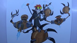 Time Lapse Drawing - Jack Spicer and the Jack-Bots from