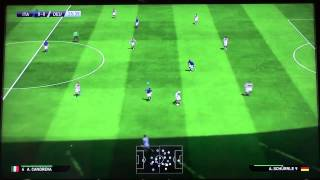 PES 2015 Gameplay #9  [HD] || Italy vs Germany [Gamescom Day 2]