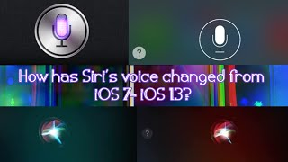 Download How has Siri's voice changed from iOS 7 to iOS 13?