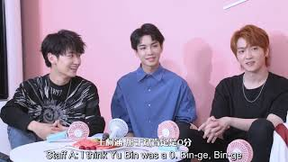 [ENG SUB] The Untamed 陈情令 Cast Interview: Mystery Box Edition