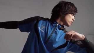 2015年春夏シーズンのヒュンメルの顔となった俳優の山本裕典さんの撮影...