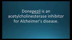 How to pronounce donepezil (Aricept) (Memorizing Pharmacology Flashcard)