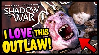 THE BEAUTIFUL OUTLAW TRIBE! | Middle Earth: Shadow of War - Gameplay Funny Moments