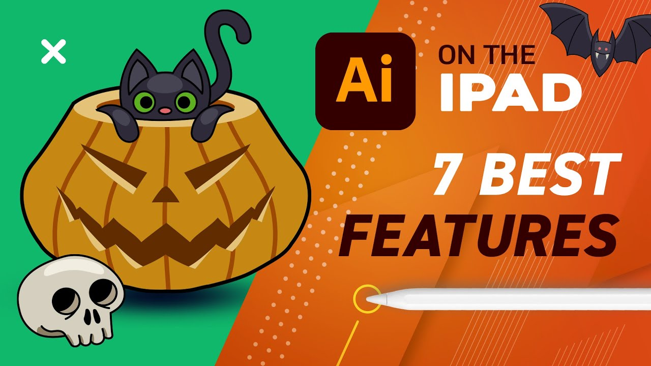 Illustrator on the iPad - 7 Most Useful Features at Release ✏️