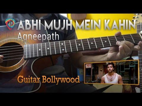 "#Learn2Play ★★★ ""Abhi Mujh Mein Kahin"" (Agneepath) chords - Guitar Bollywood lesson"