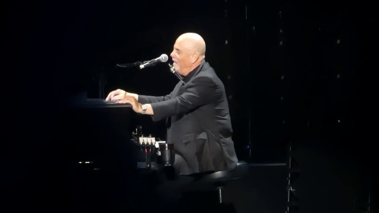 Piano man billy joel madison square garden new york 3 28 18 youtube for Billy joel madison square garden march 3