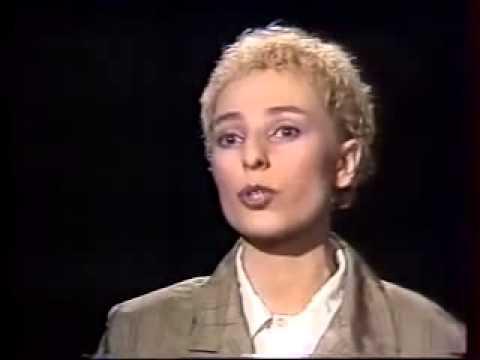 Жанна Агузарова - Интервью (1989) - YouTube