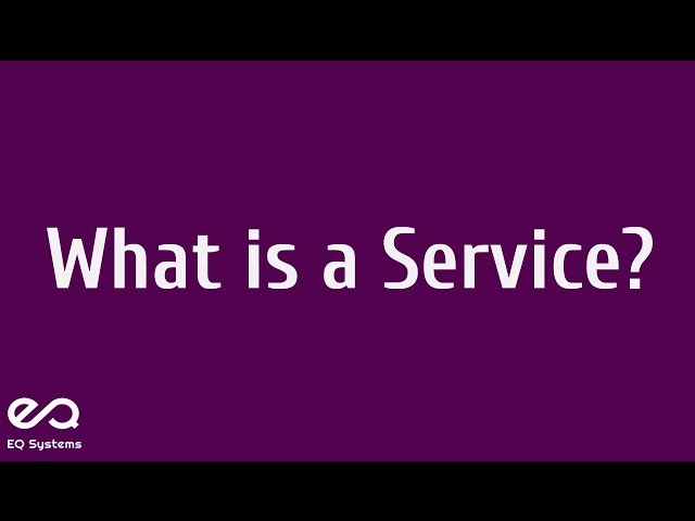 What is a Service? - eQSystms(ITIL, PRINCE2, COBIT, ASM, Cloud Computing and DevOps)