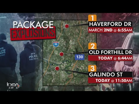 Austin bombings have police, feds investigating
