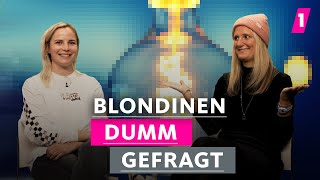Sind Blondinen wirklich etwas dümmer?   1LIVE Dumm Gefragt