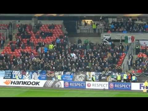 Rosenborg-Lazio...Lazio! Lazio! Lazio!