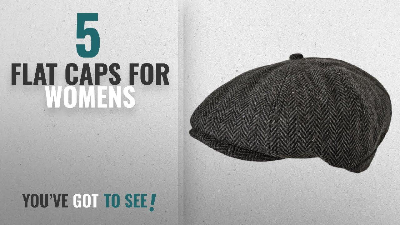 8e50ec942de Top 10 Flat Caps For Womens  2018   TOSKATOK Unisex Mens
