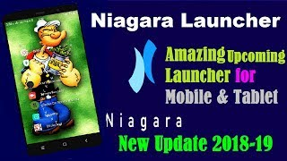 Niagara Launcher I Android Mobile Launcher Setup I Tablet I Download Launcher review 2018 in Hindi