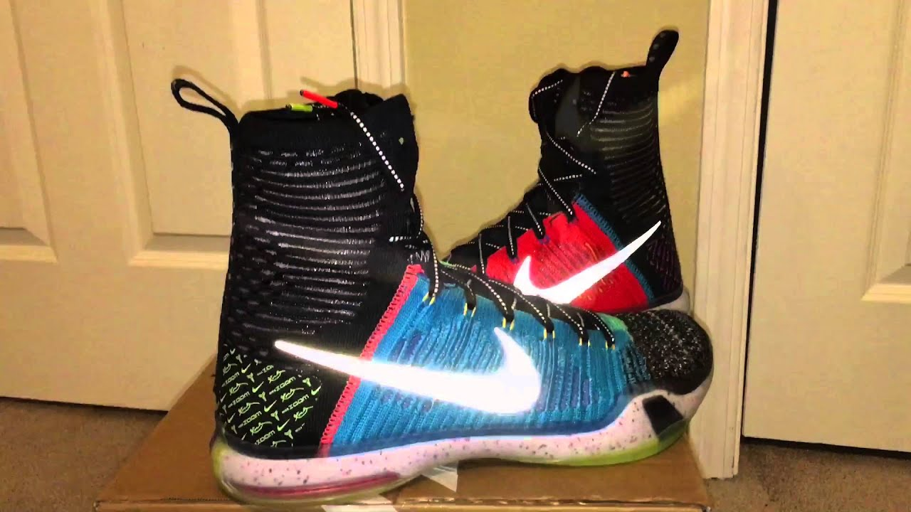 new style 2d610 0f17f What The Kobe 10 Unboxing and First Look! - YouTube