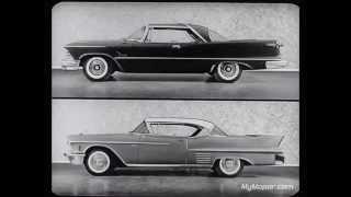 1958 Chrysler Imperial vs Cadillac Dealer Promo Film