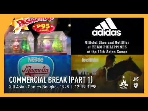 Bangkok 1998 Asian Games - IBC-13 - Commercial Break (Part 1) (12.19.1998)
