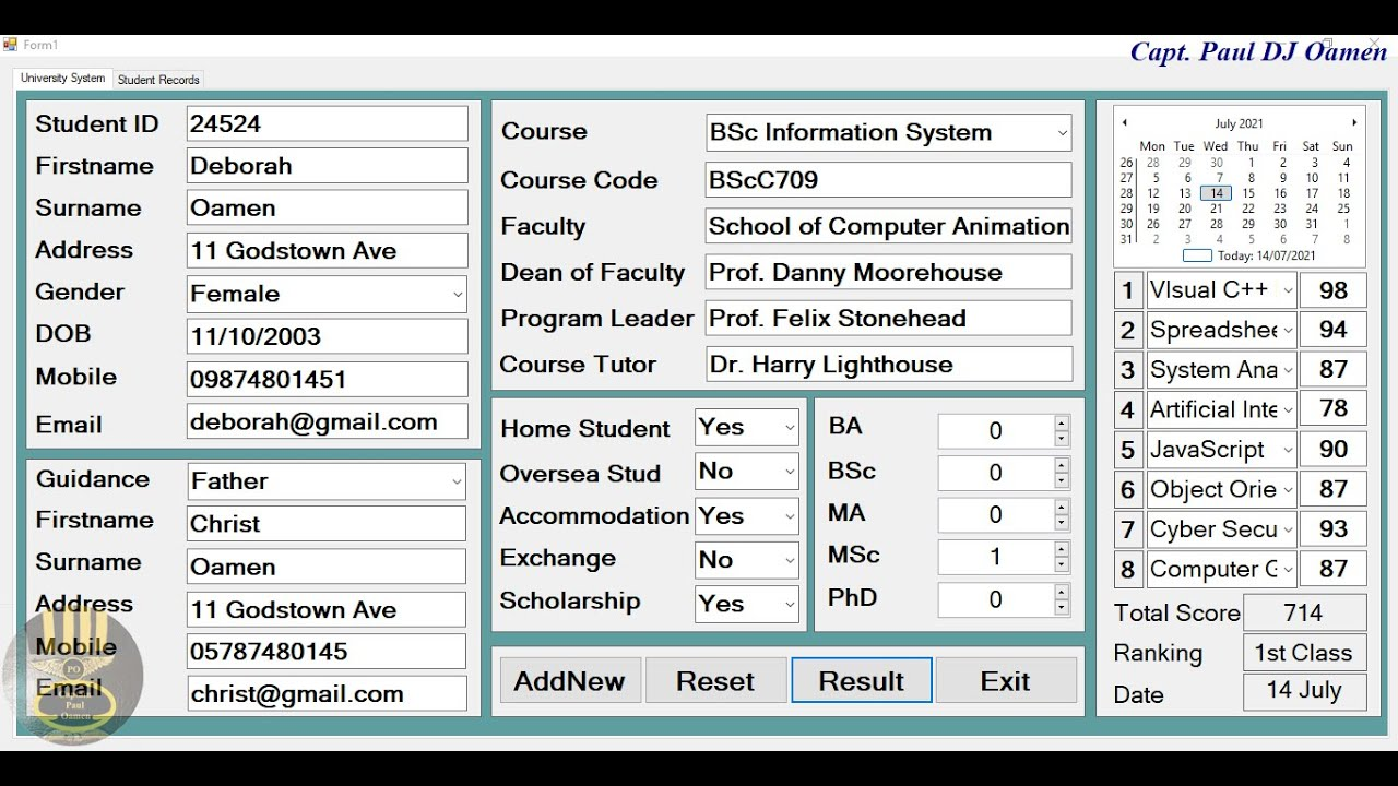 How to Create Student Management System with MySQL Database in C# - Full Tutorial