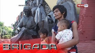 Brigada: Ilang street dwellers, naging tahanan na ang Bonifacio Shrine sa Maynila