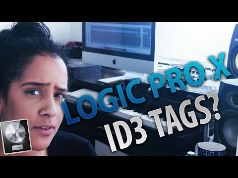 HOW TO ADD ID3 TAGS TO AN MP3 FILE in LOGIC PRO X - [TUTORIAL]