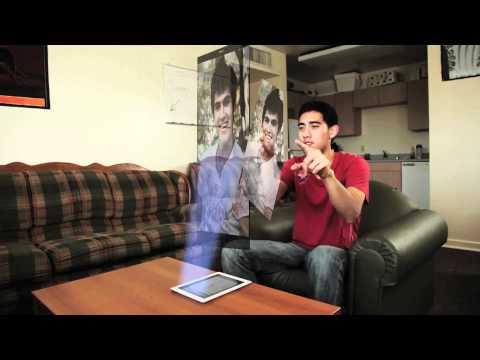 iPad 2 Hologram Setting de YouTube · Duración:  1 minutos 53 segundos