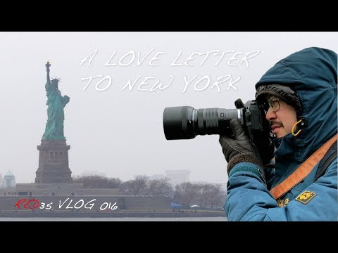 A Love Letter to New York 2018 - RED35 VLOG 016