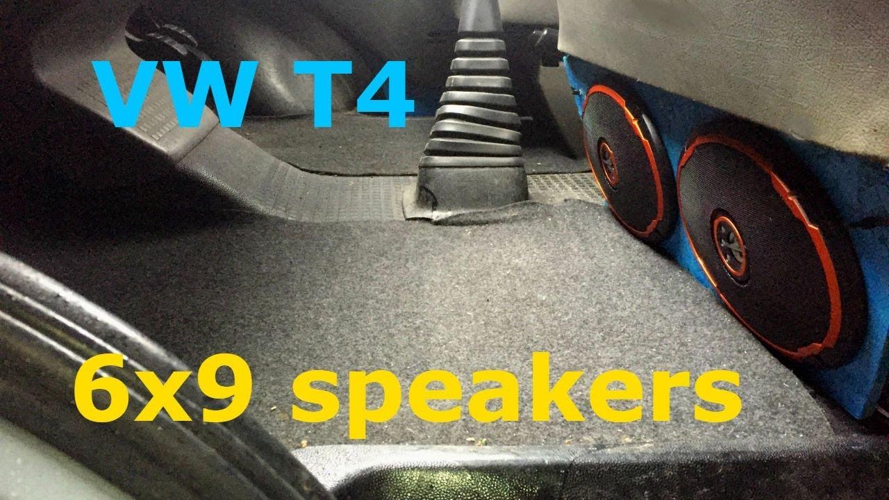 vw t4 easy speaker upgrade youtube. Black Bedroom Furniture Sets. Home Design Ideas