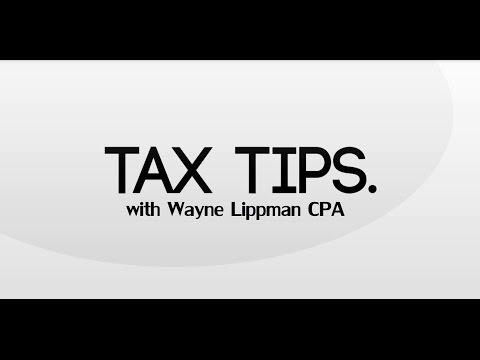 Tax Tips 2017 - Wayne Lippman CPA