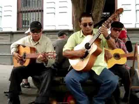 3 Blind Men Playing Costa Rican Folk Songs