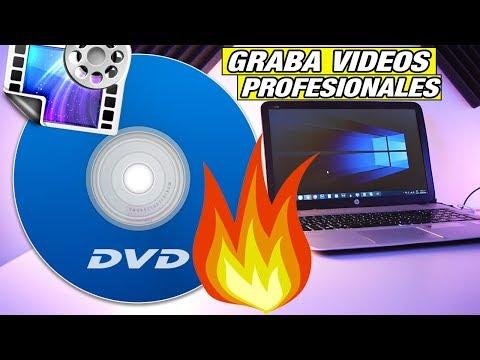 EL MEJOR GRABADOR Y EDITOR DE VÍDEOS EN CD O DVD!!