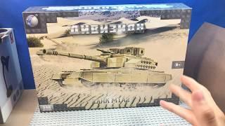 АБРАМС! - военный ТАНК  из LEGO!! (Дивизион - набор!)