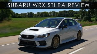Review | 2018 Subaru WRX STI RA | The Last Stand