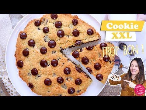 🍪-cookie-gÉant-xxl-aux-pÉpites-de-chocolat-🍪