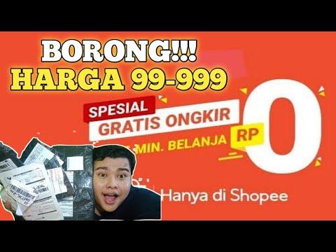 borong-shopee-99-|-unboxing-shopee-haul