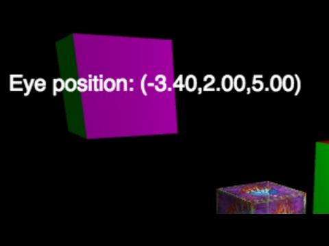 Using a canvas object as an overlay in WebGL - ProgrammingTIL #146 WebGL  tutorial video 0089