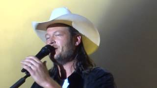 blake shelton some beach boots hearts 2014