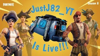 FORTNITE SEASON 8-NEW UPDATE!!! RESPAWN VAN! SKINS DE NOUVELLES!!! 25$ Amazon Code cadeau à 500 Subs!!!