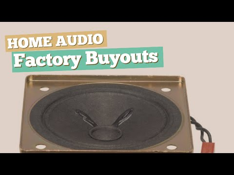 Factory Buyouts Subwoofers // Home Audio Best Sellers