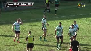 Farrapos X San Diego (1ª Divisão - Semifinal) │ Gaúcho de Rugby 2018 (Tries)