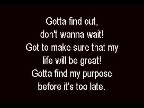 Purpose - Avenue Q - Karaoke