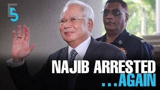 EVENING 5: Najib is arrested again