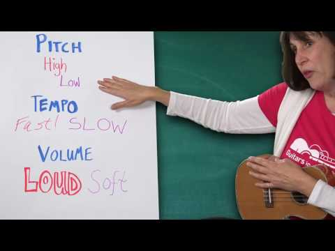 Pitch, Tempo and Volume