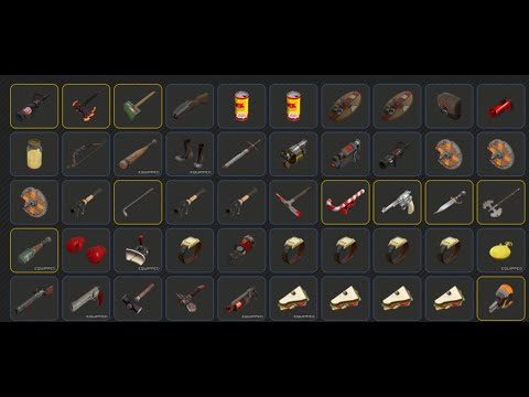 TF2-How To Get All Achievement Items